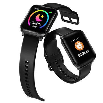 Ευρωπαϊκή αποθήκη | [Blood Oyxgen] BlitzWolf® BW-HL1 Heart Rate Blood Pressure Monitor 8 Sports Mode IP68 Waterproof Multi-language Display Health Care Smart Watch
