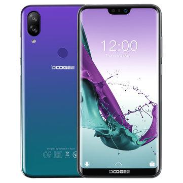 DOOGEE N10 5.84 Inch FHD+ 3360mAh 16.0MP + 13.0MP Dual Rear Cameras 3GB RAM 32GB ROM Octa Core 4G Smartphone