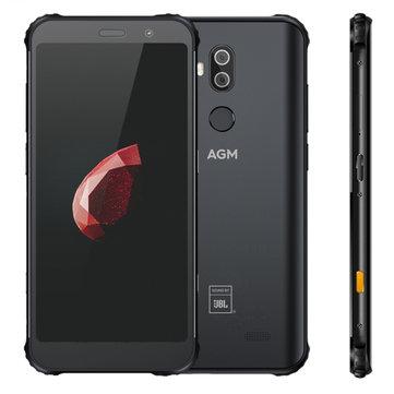 £485.249%AGM X3 5.99 inch Wireless Charging NFC IP68 Waterproof 8GB 64GB Snapdragon 845 Octa Core 4G SmartphoneSmartphonesfromMobile Phones & Accessorieson banggood.com