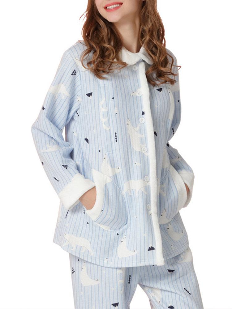Best Maternity Pajamas Set Pregnancy Printed Nursing Sleepwear You Can Buy