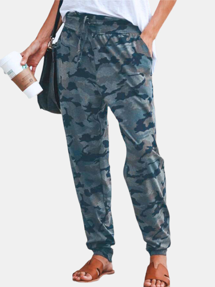 Best Camouflage Printed Drawstring Pants For Women You Can Buy