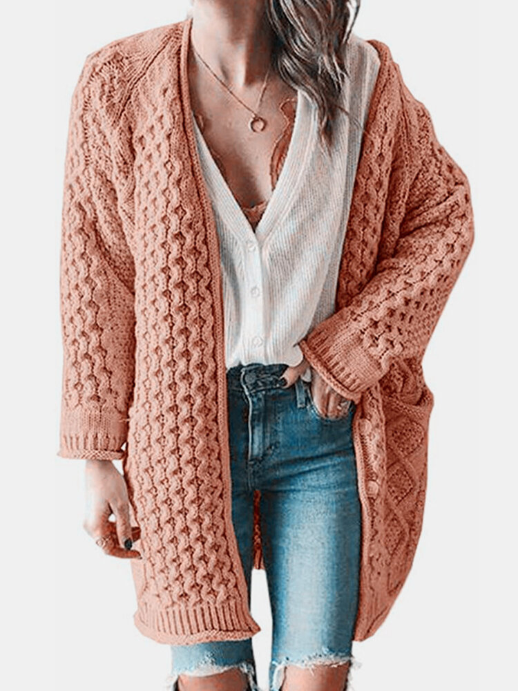Best Casual Solid Color Long Sleeve Cardigan For Women You Can Buy