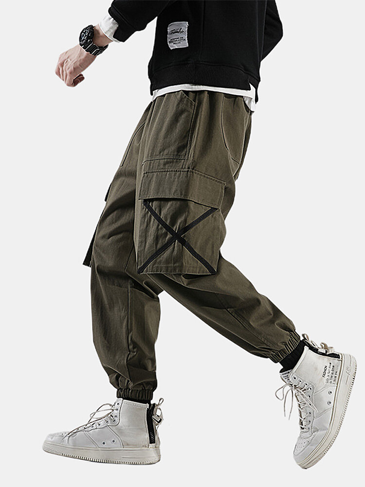 Best Mens Casual Cargo Cross Pockets Jogger Ankle Banded Pants You Can Buy