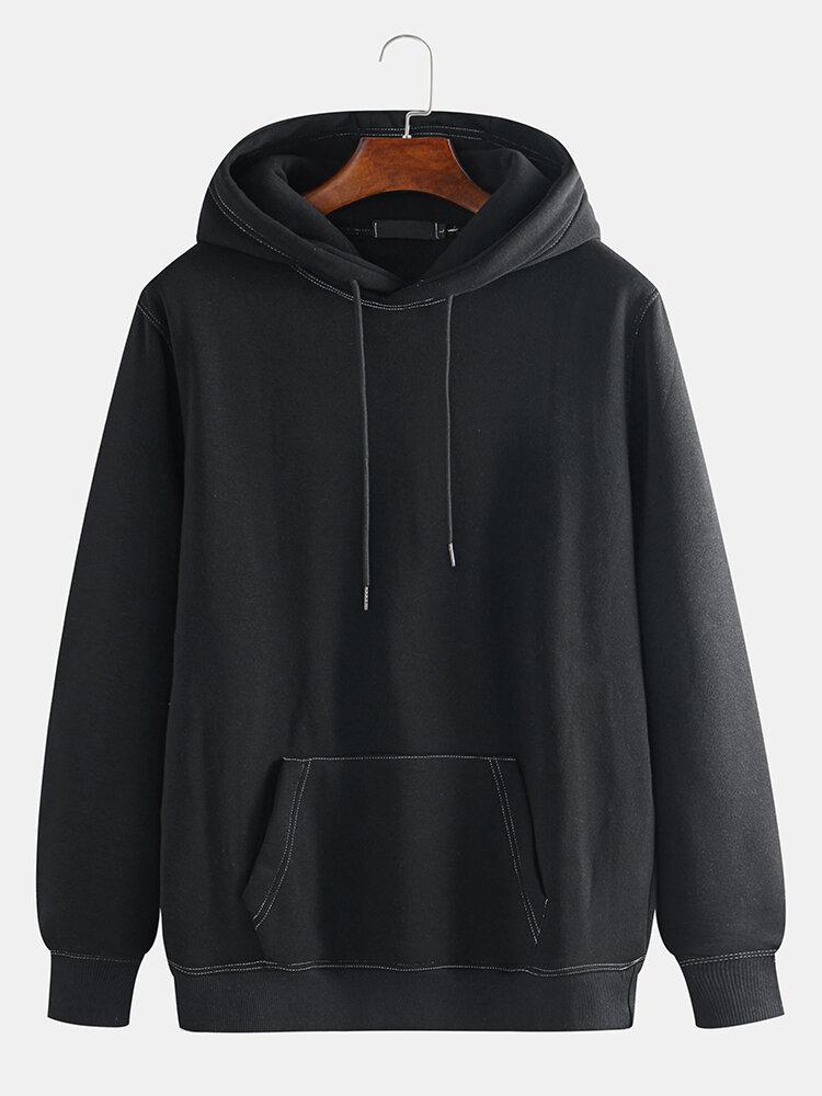 Best Mens Cool Guys Streetwear Big Pocket Drawsring Hoodies You Can Buy