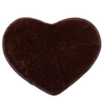 50x60cm tapis en forme de cœur pour salle de bain chambre