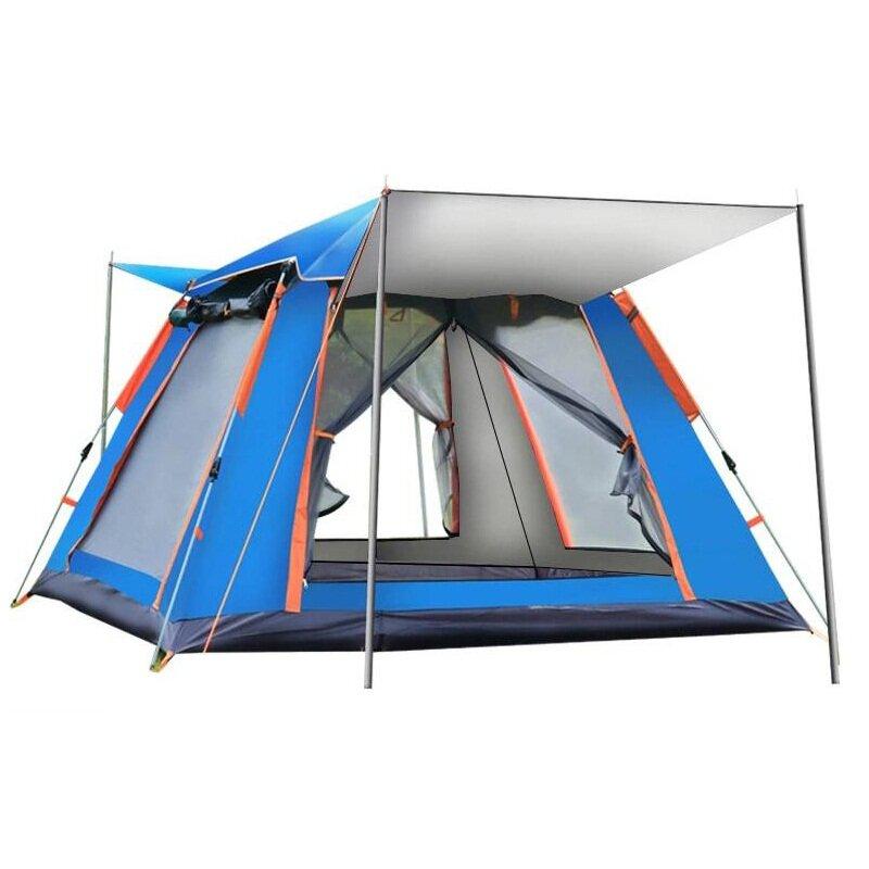 IPRee® 4-6 Person Tent Auto Setup Waterproof Windproof Ventilation Anti-mosquito Camping Tent Carpa