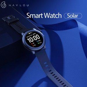 Στα €23.92 από αποθήκη Κίνας | BT 5.0Haylou Solar LS05 Full Round Screen Wristband 12 Sport Modes Tracker Heart Rate Monitor 30 Days Standby Smart Watch Global Version