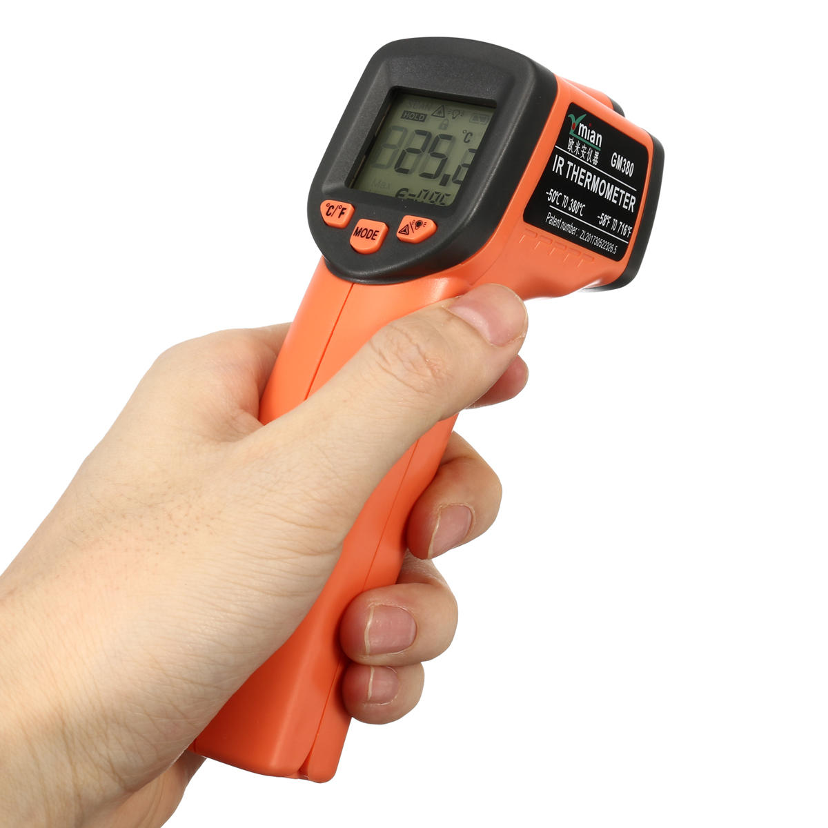 Infrared Digital Thermometer Industrial Temperature Meter