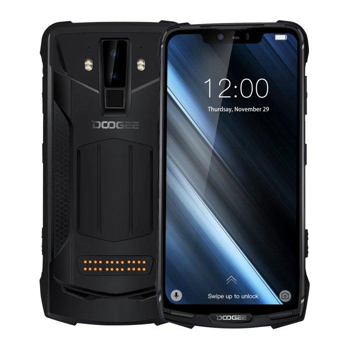 DOOGEE S90 Surpe Suit 6.18 Inch FHD+ IP68 NFC 5050mAh 6GB RAM 128GB ROM Helio P60 Octa Core 4G Smartphone