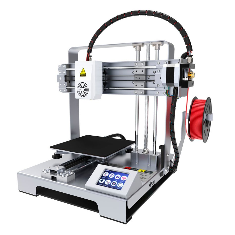 Easythreed® X6 Desktop Portable DIY 3D Printer Kit 140*140*140mm Print Size with Hotbed 1.75mm 0.4mm Nozzle