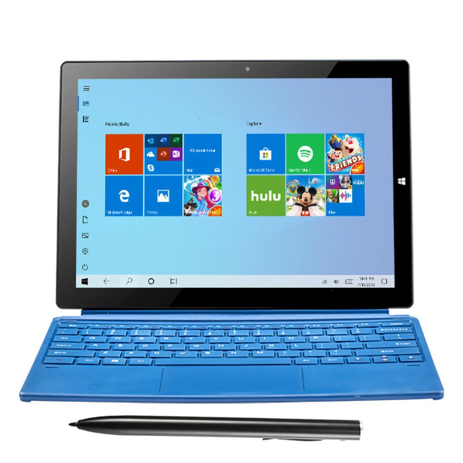 PIPO W12 Snapdragon 850 Octa Core 8GB RAM 256GB ROM 12.3 Inch Windows 10 Tablet With Keyboard Stylus Pen