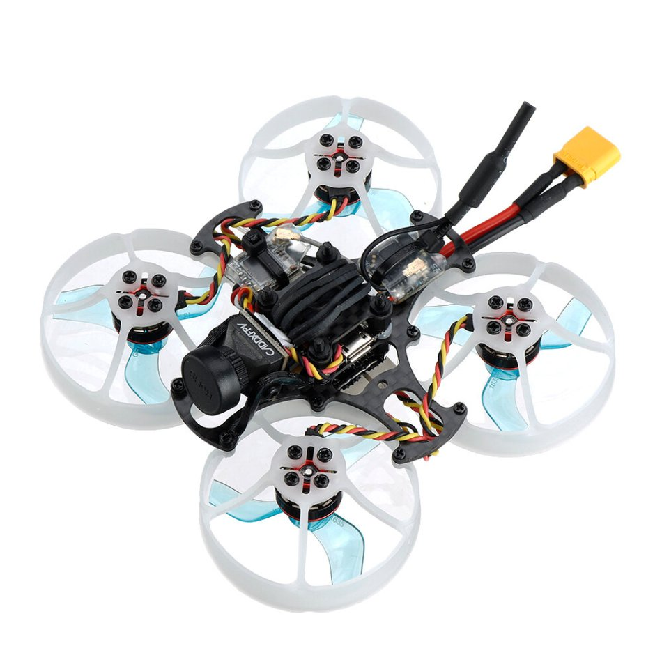 "FullSpeed TinyPusher 1.5"" 75mm CineWhoop 3S Tinywhoop FPV Racing RC Drone FSD412 Stack Nano400 VTX Caddx EOS2 Camera"