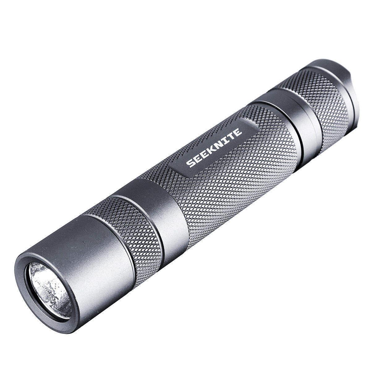SEEKNITE ST02 Gray SST40 1800lm 5000K 18650 Tactical Flashlight S2+ or S2 Temperature Protection Management LED Mini Torch