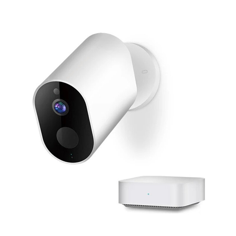 [International Version] IMILAB EC2 1080P Smart Wireless Battery IP Camera Waterproof Outdoor Camera AI Moving Detection Infrared Nighte Version Baby Monitors