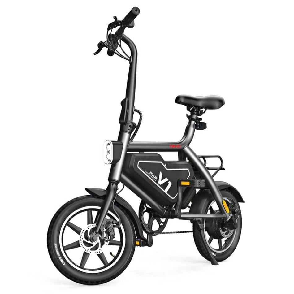 HIMO V1 PLUS Urban Version 250W 10.4Ah 14 Inches Folding Bicycle 25km/h Max 100kg Max Load 70km Mileage Electric Bike US Plug From Xiaomi Youpin