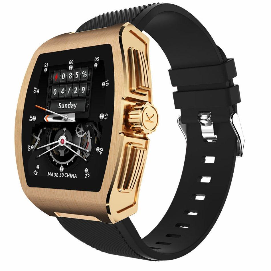 SERVO C1 Body Temperature Tracker Wristband Blood Pressure Oxygen Monitor Multi Watch Face Weather Display Smart Watch
