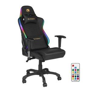 Στα €155.98 από αποθήκη Τσεχίας | BlitzWolf® BW-GC8 Gaming Chair with 7 RGB Lights Effect 160°Max Reclining 2D Ajustable Armrest for Home Office