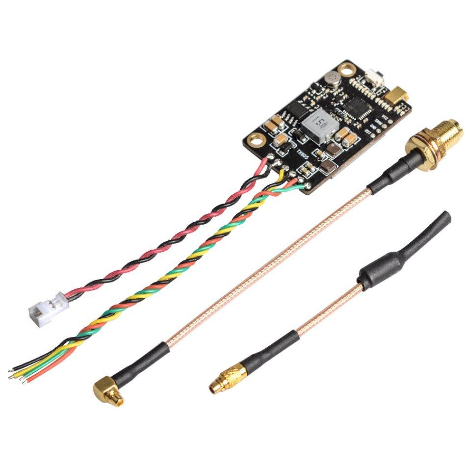 Eachine TX805 5.8G 40CH 25/200/600/800mW FPV Transmitter TX LED Display Support OSD/Pitmode/Smart Audio