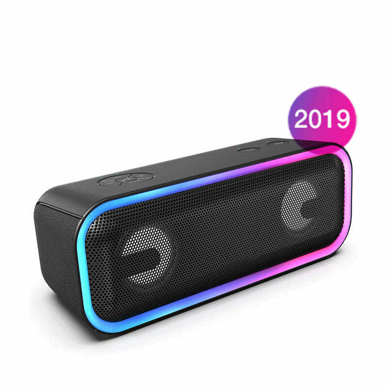 Doss BT20 2600mAh Wireless bluetooth Speaker DSP Technology Powerful Bass Stereo Sound Box Waterproof Speaker Support Microphone