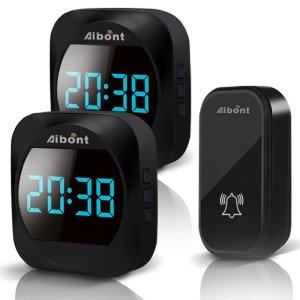 Στα €13.99 από αποθήκη Τσεχίας | ML 195 Wireless Doorbell Smart Household DoorBell With Time Display Volume Adjustable Mutil Use for Home Apartment OfficeSelf powered No Battery Required Doorbell