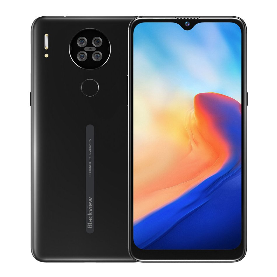 Blackview A80 Global Version 6.217 inch HD+ Waterdrop Display 3800mAh Android 10 Go 13MP Quad Rear Camera 2GB 16GB MT6737V/W Quad Core 4G Smartphone COD