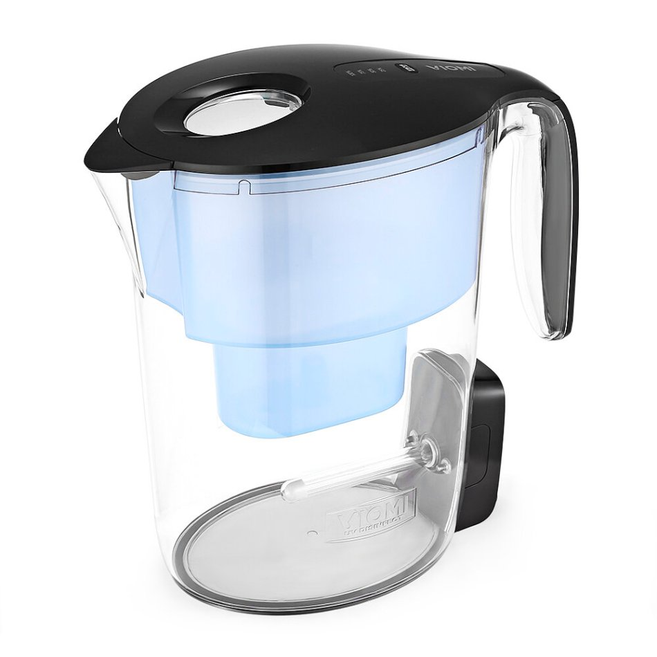 VIOMI VH1Z-A UV Disinfection Water Filter Kettle 7-Stage Filtration Intelligent Display ABS material USB Rechargeable Design