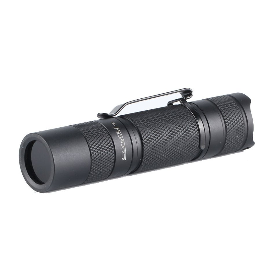 Convoy T2 365nm UV Flashlight AA/14500 Mini Tactial LED Torch 1000mw Powerful Ultraviolet Detector Lamp