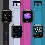 Στα €21.29 από αποθήκη Κίνας   bluetooth Call Zeblaze GTS 1.54inch Touch Screen 7x24h Heart Rate Monitor 60+ Watch Faces Weather Display Music Control Custom Dial Smart Watch