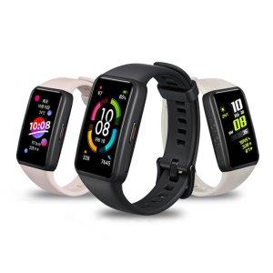 Στα €42.60 από αποθήκη Κίνας | Original Honor Band 6 1.47 inch AMOLED Touch Screen 10 Kinds of Professional Sports Fitness Tracker Heart Rate Blood Oxygen Monitor Long Standby Smart Watch