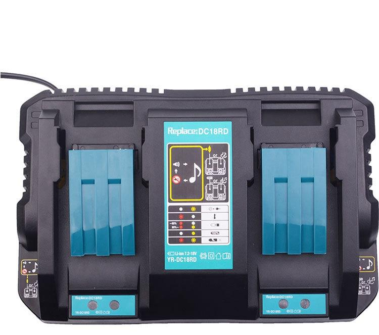 Smart Dual Pulse DC18RD 18-14V Battery Charger For Makita USB Charger Fast Rapid Dual Twin Port