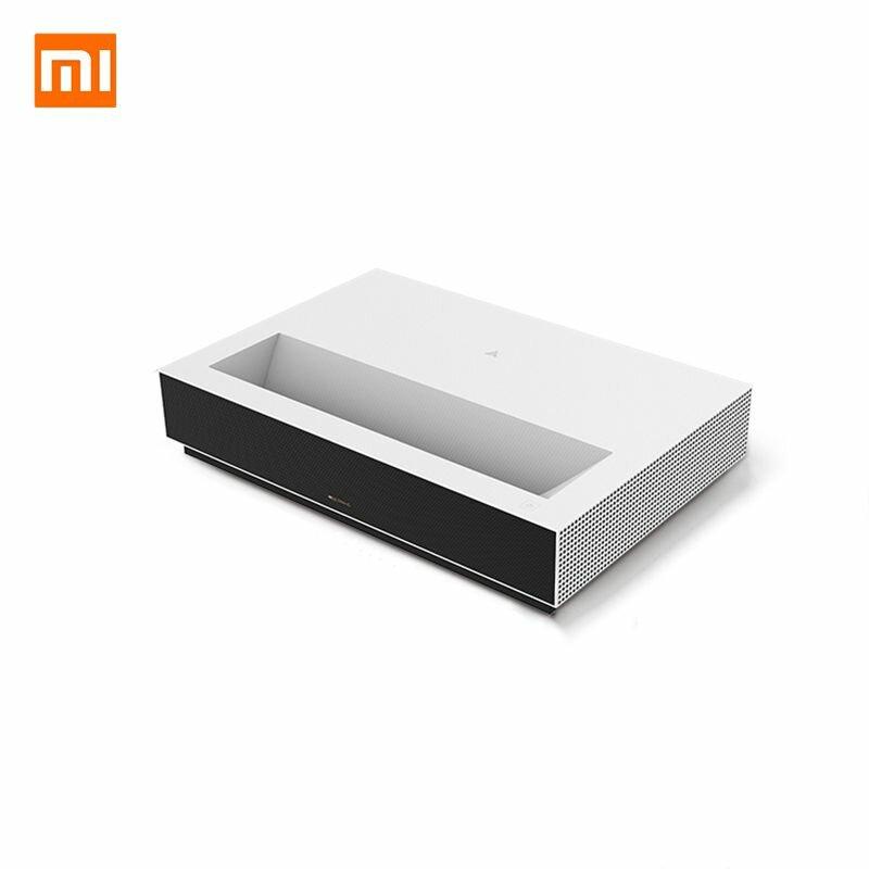 [New Version] Fengmi 4K Cinema Laser Projector 2000 ANSI Lumens 150 inch ALPD 4K 3D BT 4.0 MIUI TV Xiaomi Projector - White