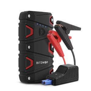 Στα €36.71 από αποθήκη Τσεχίας | BlitzWolf BW JS1 Portable Car Jump Starter 12000mAh 800A Emergency Battery Booster Power Bank Waterproof with LED Flashlight QC3.0 USB Charging Port
