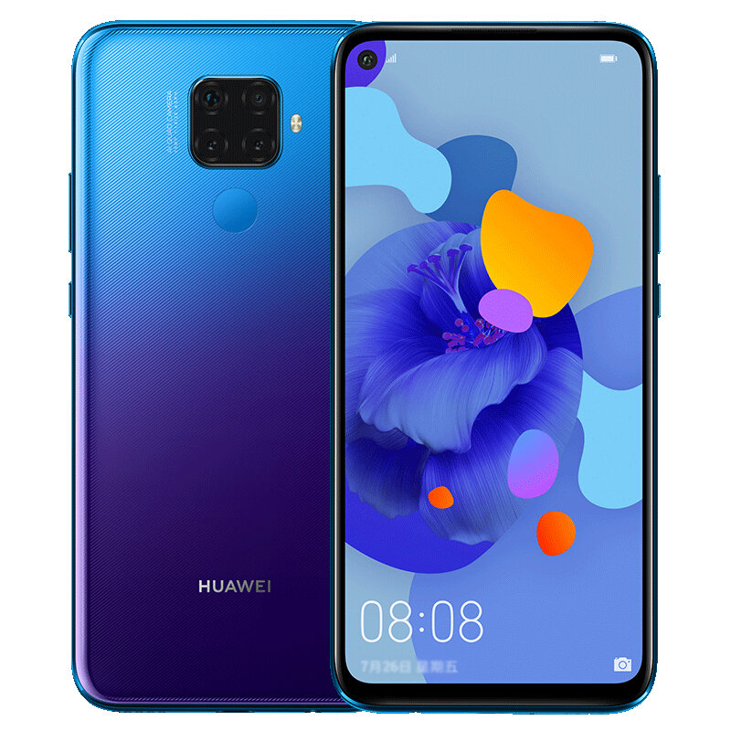 HUAWEI Nova 5i Pro 6.26 inch 48MP Quad Rear Camera 8GB 128GB Kirin 810 Octa core 4G Smartphone
