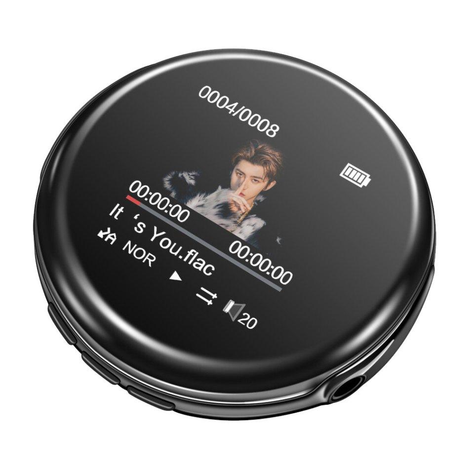 RUIZU M1 bluetooth 8GB MP3 Player Built-in Speaker FM Radio Recording E-Book Clock Audio Music Player COD