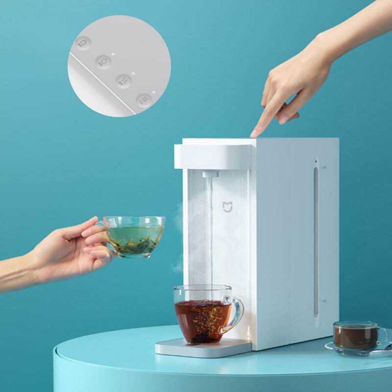 Xiaomi MIjia Water Dispenser C1 Automatic Waterer 3 Seconds Fast Heating Four-button Design Three Gear Temperature