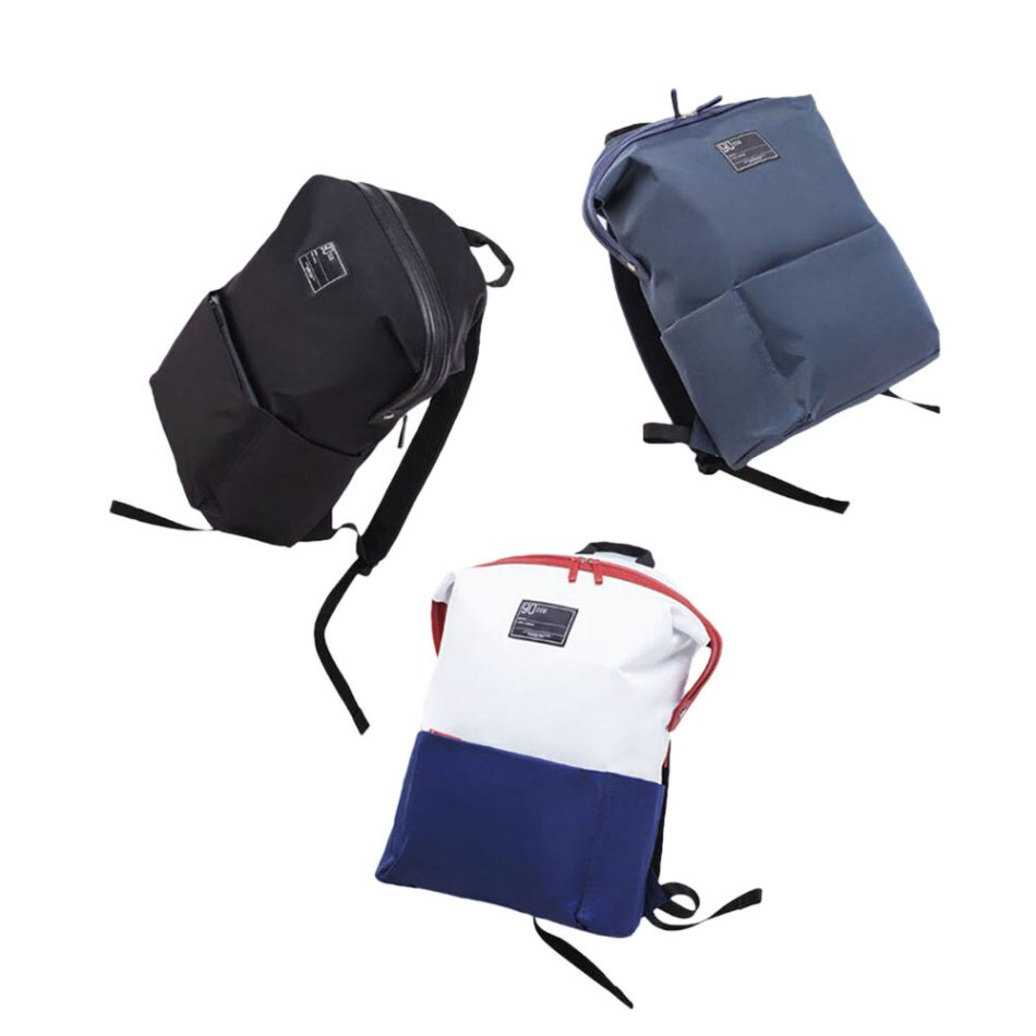 90FUN Lecturer Fashion School Bag From Xiaomi Youpin Durable Waterproof Security Multifunctional Pack Fits For 13.3 Inch Laptop Computer