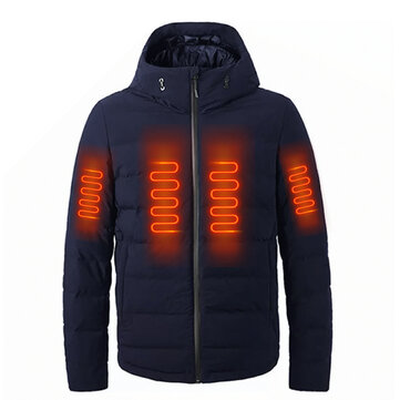 VANCL Heating Goose Down Jacket From Xiaomi Youpin USB Electric Charging