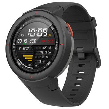 Original Amazfit Verge International Version AMOLED IP68 bluetooth Calling GPS+GLONASS Smart Watch