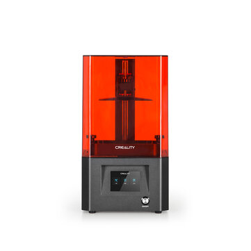 Creality 3D® LD-002H UV Resin 3D Printer 130x82x160mm Print Size Air Filtration System with Activated Carbon/Powerful Slicer Software/3.5 Inchi Full-color Touch Screen
