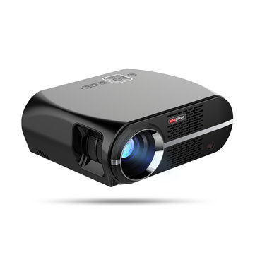 Vivibright GP100UP Smart LCD LED Projector 3500 Lumens 1280x800 Pixels LED Projector Android 6.01 USB WIFI 1080P HD Video Decode VGA Home Theater
