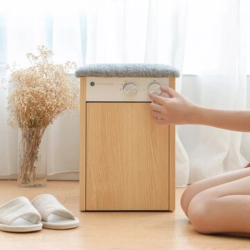Disinfection And Drying Shoe Stool from Xiaomi Youpin AC220V-240V 200W MAX Temperature Control Convenient Manipulate Removable Partition for Saving Space