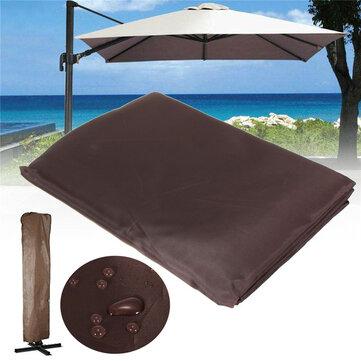 https www banggood com 260x70cm brown waterproof garden patio parasol umbrella outdoor canopy protective cover p 1226135 html