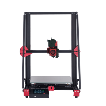 KOONOVO Pyramid FDM 3D Printer 300*300*400mm Print Size Open Source Firmware/Double Z-axis/TMC2209 Driver/Lattice Glass Printing Platform/