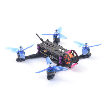 Skystars BabyTurtle 145mm FPV Racing Drone F4 8K FC OSD 25/200mW VTX RunCam Split Mini2 DVR Camera