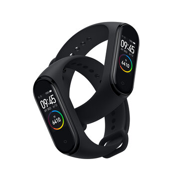 [BT 5.0]Original Xiaomi Mi band 4 AMOLED Color Screen Wristband 5ATM Long Standby Smart Watch International Version