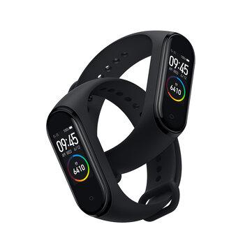 Original Xiaomi Mi band 4 AMOLED Color Screen Wristband bluetooth 5.0 5ATM Long Standby Smart Watch International Version