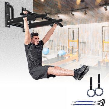 Ευρωπαϊκή αποθήκη   Gym Wall Mount Pull Up Bar Home Training Chin-Up Bars Fitness Exercise Tools
