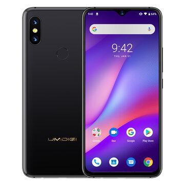 £244.5420%UMIDIGI S3 Pro 6.3 Inch FHD+ 5150mAh Android 9.0 48MP+12MP Dual Rear Cameras Helio P70 Octa Core 2.0GHz 4G SmartphoneSmartphonesfromMobile Phones & Accessorieson banggood.com