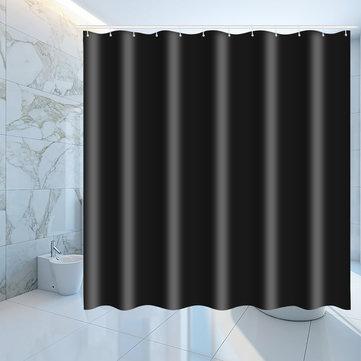waterproof black shower window curtain bathroom drape hotel home decor fashion