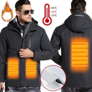 TENGOO Warm-E Electronic Heated Jacket Intelligent USB Heating Adjustable Temperature Waterproof Work Coat